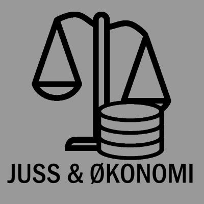 Logo for Juss & Økonomi