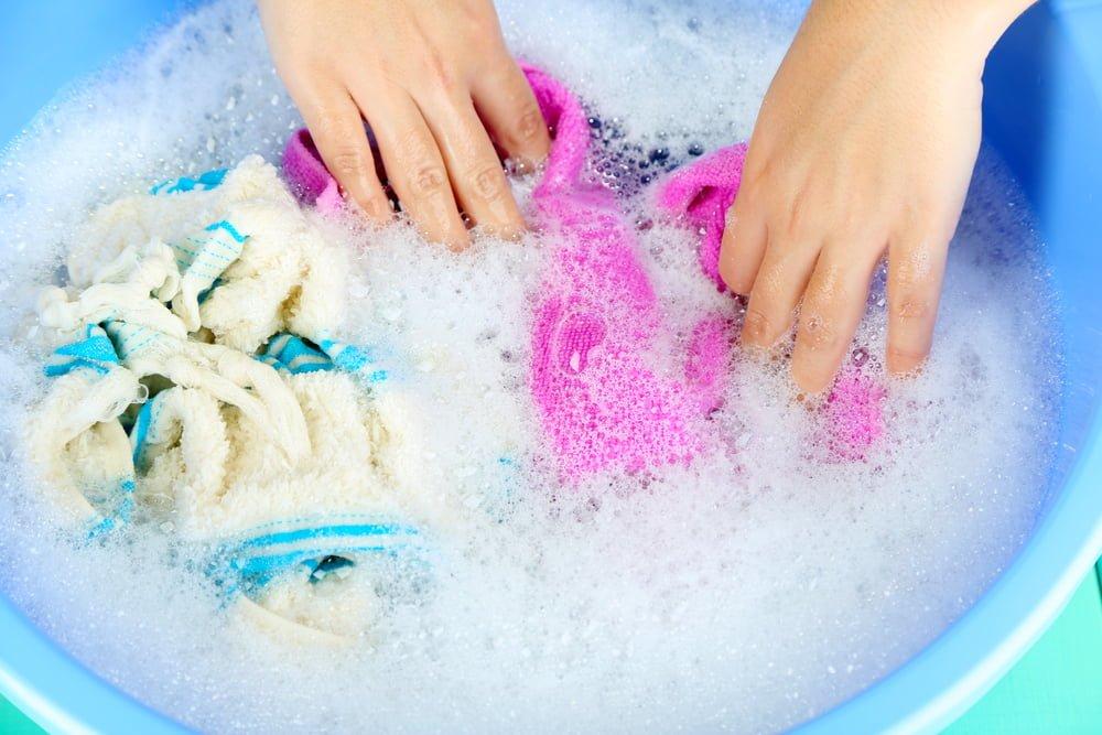 håndvask av tøy