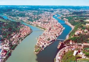 Flyfoto over Donau
